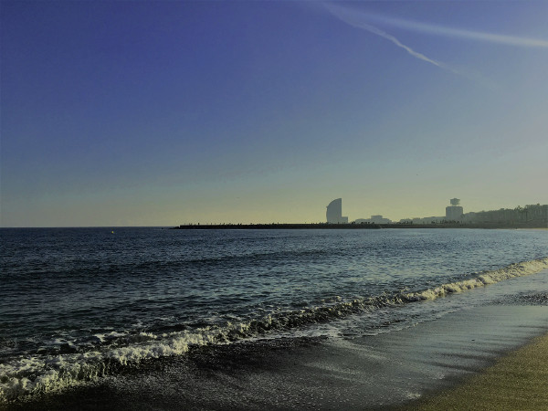 Barca a moře