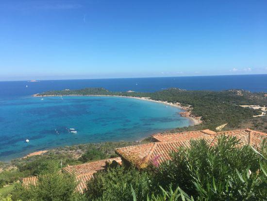 Pláž Capo Coda Cavallo