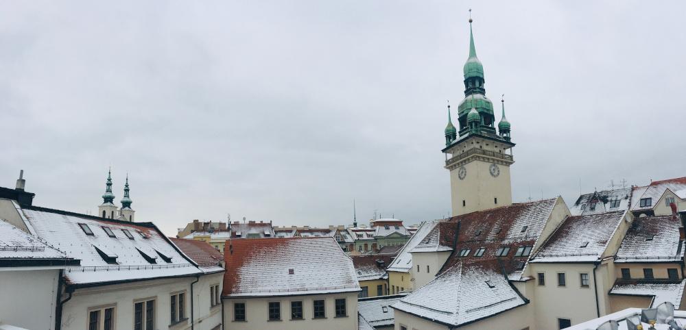 Výhled z brněnské Tržnice